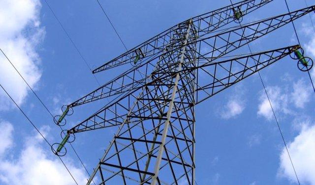 Una torre de electricidad