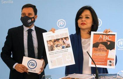 """PP pide responsabilidades a PSOE de Sevilla ante la """"sucesión de escándalos sobre su gestión"""" en la provincia"""