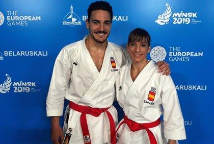 Sandra Sánchez y Damián Quintero compiten este fin de semana en la Liga Iberdrola y la Liga Nacional de Alicante