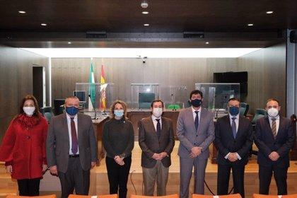 La Junta invierte más de 100.000 euros en la puesta en marcha de cuatro juzgados Covid en Andalucía