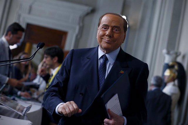 El ex primer ministro de Italia Silvio Berlusconi.