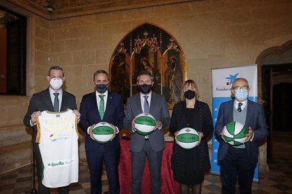 Ayuntamiento de Sevilla, Caixabank y Fundación Aro adecuarán con canastas de baloncesto plazas de barrios desfavorecidos