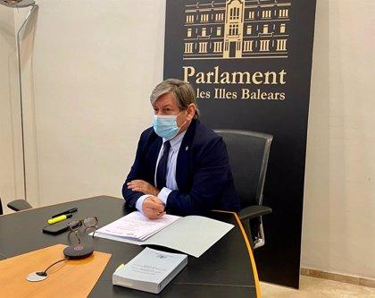 El presidente del Parlament balear participa en la primera reunión de la Calre 2021