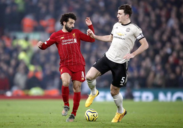Salah (Liverpool) y Maguire (Manchester United)