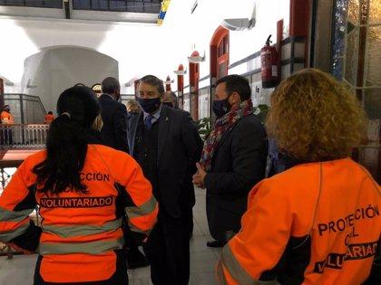 Sanz agradece a la Agrupación Local de Voluntariado de Algeciras su dedicación y compromiso con Protección Civil