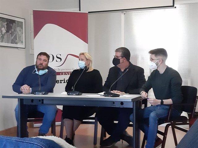 Presentación de 'Andalucía no se rinde'