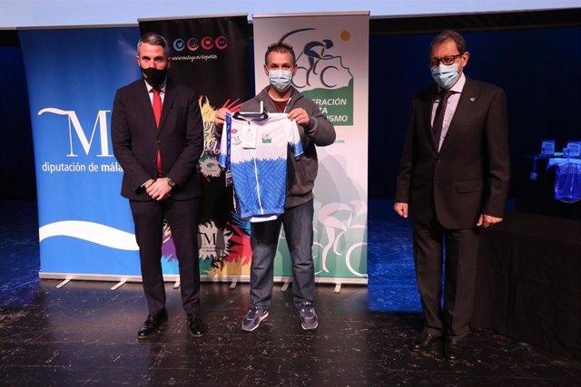La Diputación de Málaga premia a los ciclistas de la provincia más destacados durante la temporada 2020