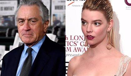 Robert De Niro y Anya Taylor-Joy (Gambito de Dama), juntos en lo nuevo de David O. Russell