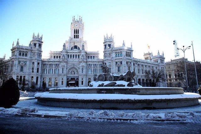 Plaza de Cibeles en Madrid.