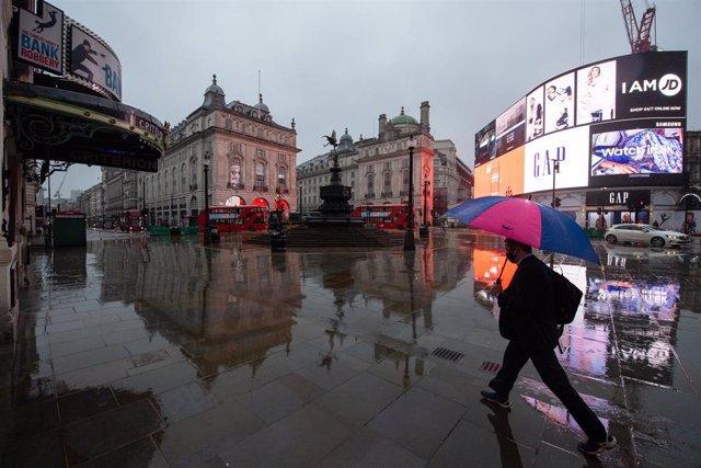 Vista general de Piccadilly Circus, en Londres