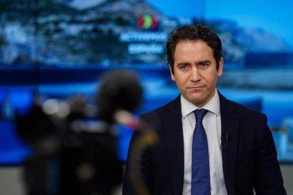 """García Egea recrimina a PSOE y Vox querer hacer las catalanas en """"plena tercera ola"""": """"La pinza se pone a funcionar"""""""