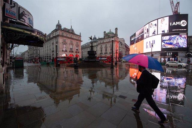Vista general de Piccadilly Circus, a Londres