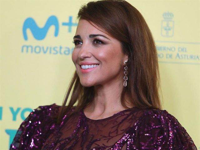 Paula Echevarría en el estreno de la comedia 'Si yo fuera rico'