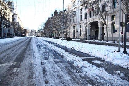 Madrid calcula en 110 millones el coste para reparar calzadas y aceras de la capital dañadas
