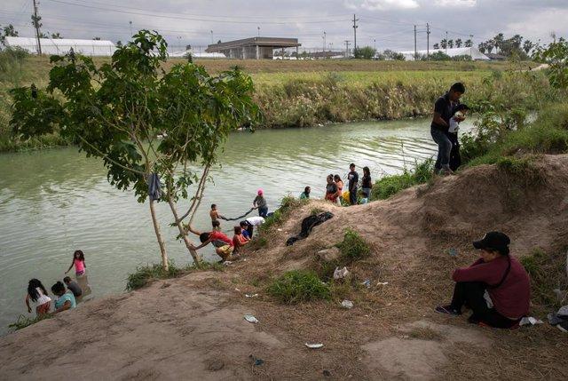 Caravanas de migrantes en México