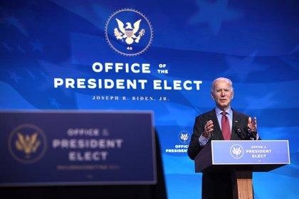 """Coronavirus.- Biden compara la situación de la pandemia de COVID-19 en EEUU con """"un invierno muy oscuro"""""""