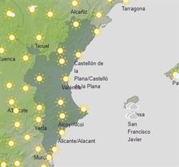 Predicción meteorológica en la Comunitat Valenciana