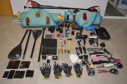 Detienen a cuatro personas por numerosos robos en localidades de Calvià y Andratx