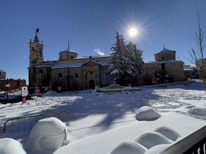 Molina de Aragón se instala en el liderato de pueblos más fríos por quinto día consecutivo y registra -14,7º