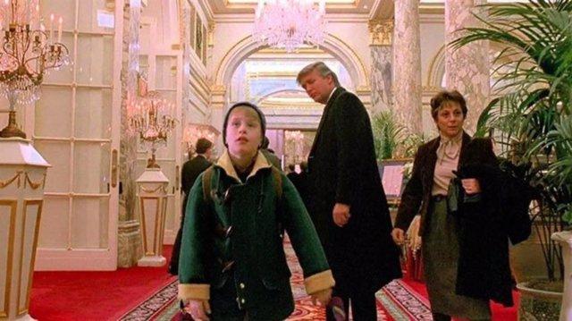 Donald Trump en Solo en casa 2