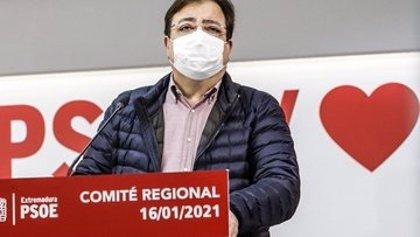 Vara anuncia que se presentará a la reelección como secretario general del PSOE de Extremadura
