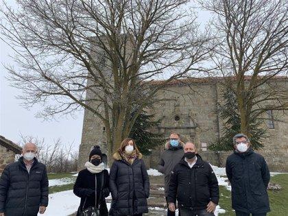 Diputación de Palencia colabora en la reparación del camino que une la localidad de Menaza (Aguilar de Campoo) con Nesta