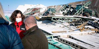 Ayuso cifra en 56 los municipios que ya han solicitado a la Comunidad ser declarados zona catastrófica
