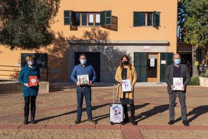 Marratxí pone en circulación la 'Maleta viajera' entre las escuelas del municipio para transmitir valores de igualdad