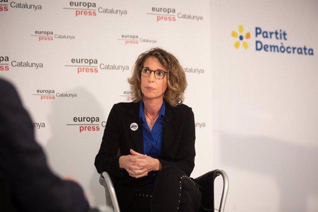 L'exconsellera i candidata del PDeCAT a les eleccions catalanes, Àngels Chacón.