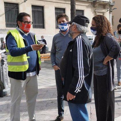Cs Huelva propone quitar la zona azul, más la limpieza y nuevas ayudas a sectores afectados por la tercera ola