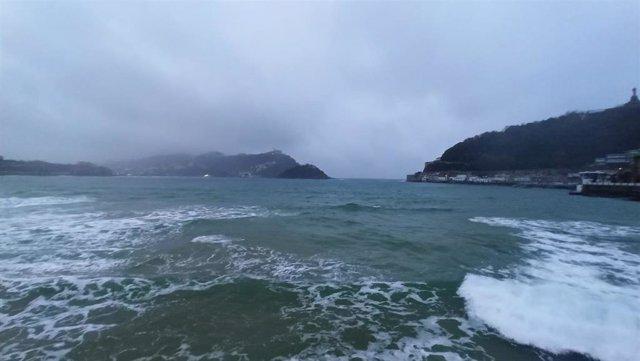 Nubes en San Sebastián