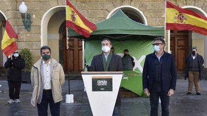 "VOX espera gobernar en Cádiz para ""liderar la recuperación de la libertad"""