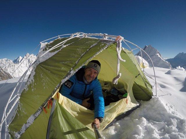 El alpinista Sergi Mingote.