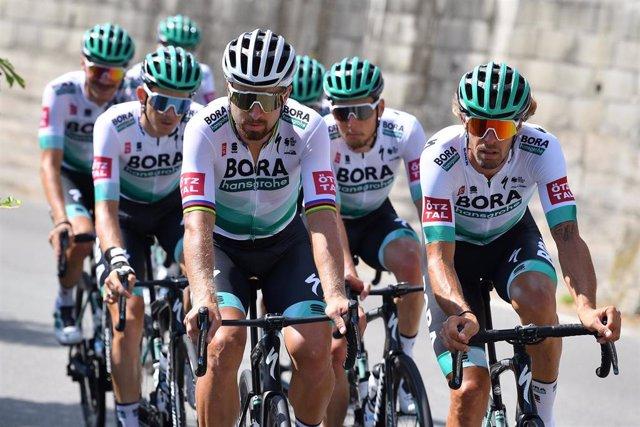 El Bora-Hansgrohe, en el Tour de Francia 2020