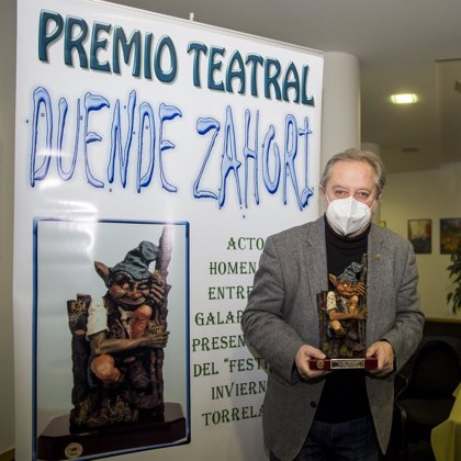 El actor Manuel Galiana recibe el Premio Duende Zahorí
