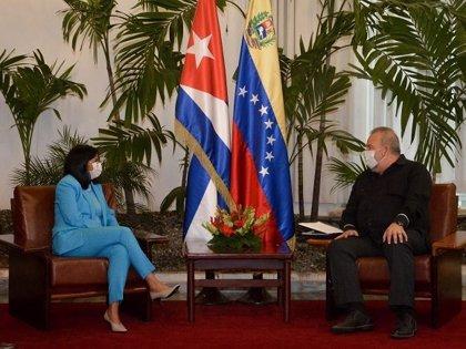 Cuba/Venezuela.- Venezuela y Cuba crean un observatorio para evaluar impacto de sanciones de Estados Unidos