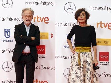Fernando Colomo y Beatriz de la Gándara, pletóricos por el Premio Medalla de Oro de Egeda