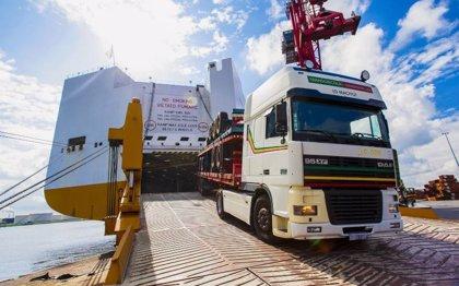 Inaugurada la nueva ruta naviera para camiones entre Cartagena y Tolón (Francia)