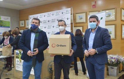 Grupo Orthem dona 5.000 litros de leche para los más necesitados