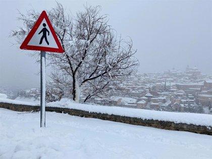 """Tierraseca rebaja el protocolo de viabilidad invernal en C-LM a fase de """"alerta"""", el nivel más bajo"""