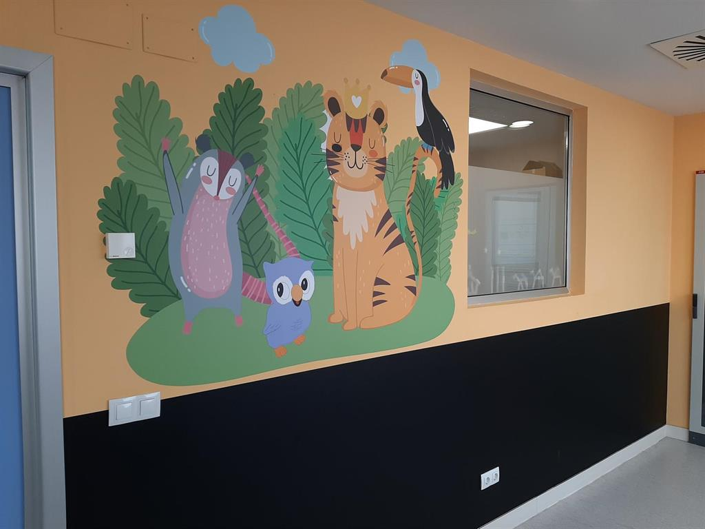 El grupo  Eulen  colabora en la  humanización  del Hospital San Pedro de Logroño