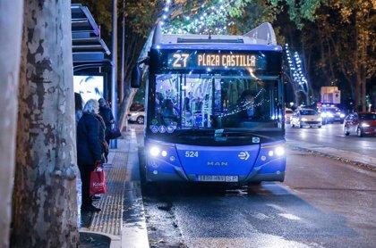 Los autobuses de la EMT en Madrid, gratuitos de lunes a miércoles