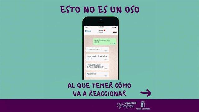Juventud Castilla-La Mancha Inicia El Año Con Una Campaña En Redes Sociales Para Concienciar A Los Jóvenes Contra La Violencia De Género.