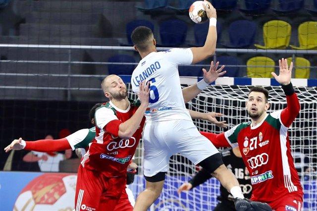 El internacional de Cabo VerdeLeandro Semedo ante Hungría en el Mundial