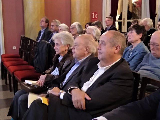 Jordi Pujol en l'acte 'Model Sanitari Català. Una estructura d'Estat'