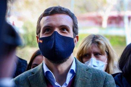 """Casado critica que el Gobierno ataque a CyL """"en vez de asumir su responsabilidad"""""""