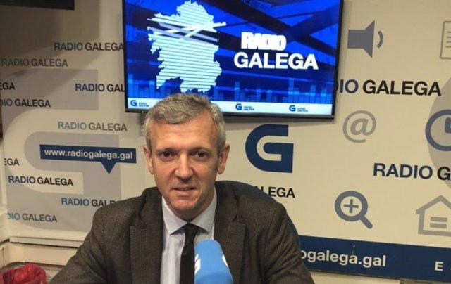 Alfondo Rueda en entrevista en la RG.