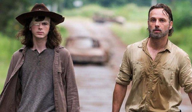 The Walking Dead: El creador planeó matar a Rick para convertir a Carl en protagonista