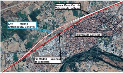 Ingenieros de Caminos de C-LM apuestan por una alternativa soterrada en Talavera para la línea AVE Madrid-Extremadura