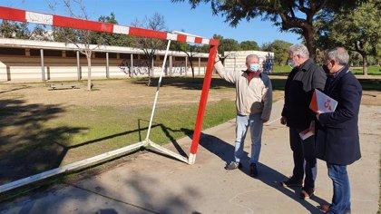 """Cs alerta de las """"deficiencias"""" del Parque Miraflores de Sevilla y reclama """"un plan de mantenimiento"""""""
